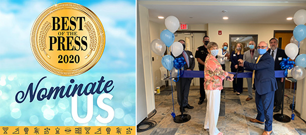 John Brooks Recovery Center has been nominated for Best Drug/Alcohol Recovery Program in Press of Atlantic City's 2020 Best of the Press Readers' Choice Awards.